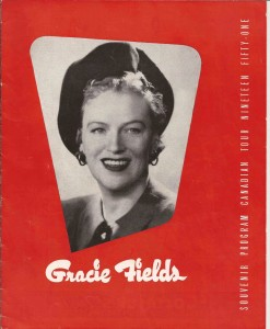 1951 Canadian Programme