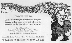 'Gracie's Working Party' Rochdale