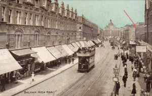 High Road, Balham c1914