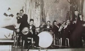 'Archie Pitt's False Romantics', performing aboard SS Laurentic