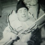 Fred in a scene from Gracie's 1936 film, 'The Show Goes On'.