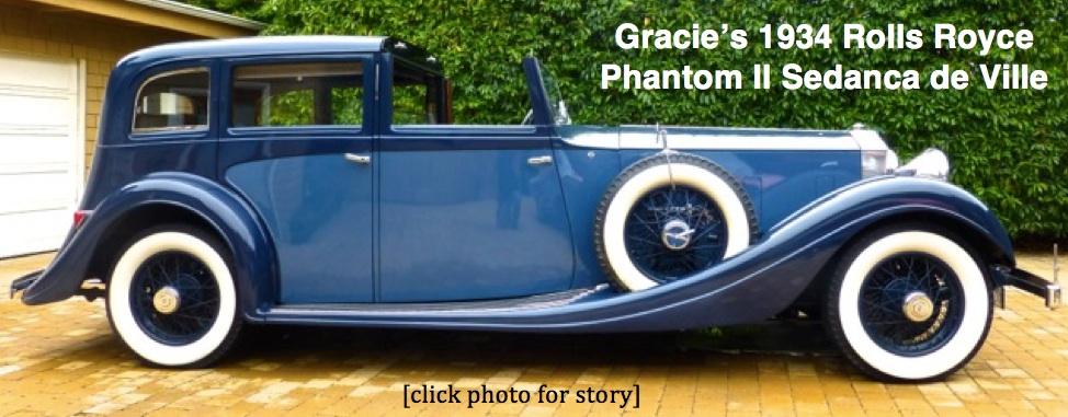 Gracie's Rolls Royce copy