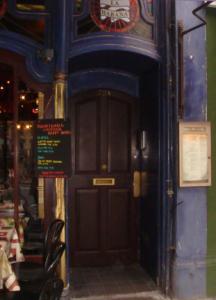 Gracie's front door