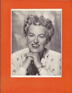 Harold Fielding 1954 tour programme
