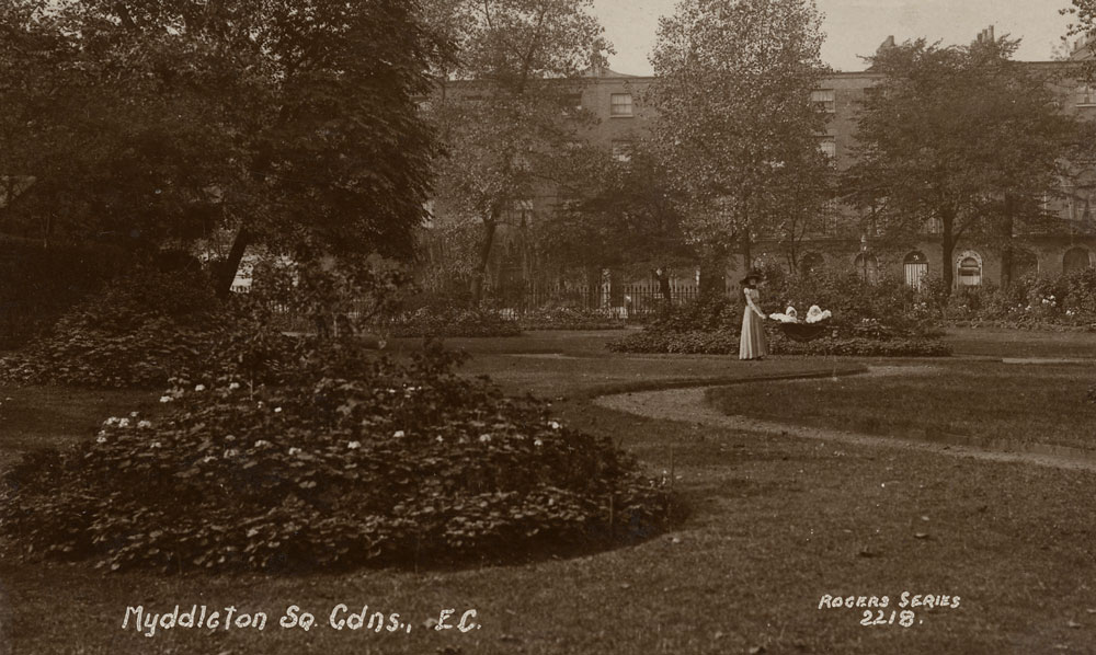 Myddleton Square Gardens