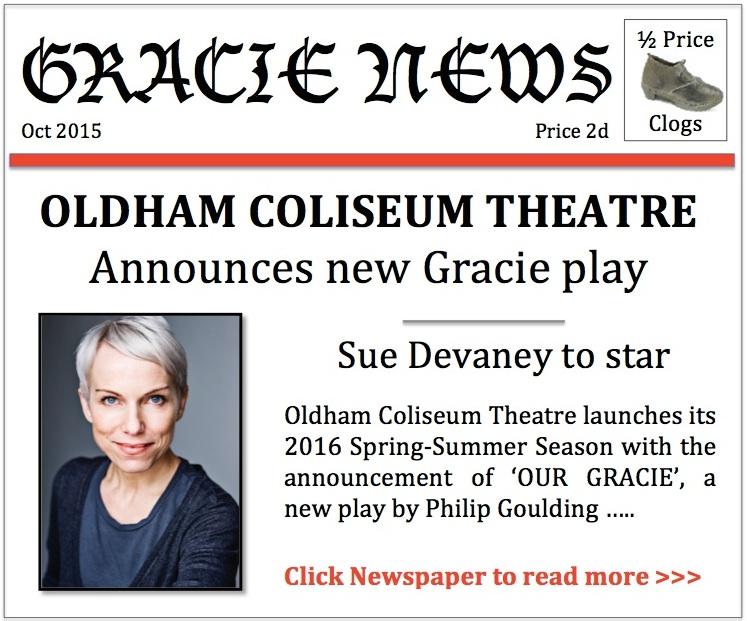 'Our Gracie' announcement