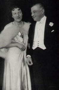 Gracie and Maurice Harvey in the final scene