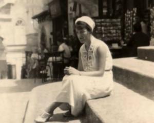 Gracie in Capri 1931