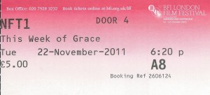 The BFI recently had a showing of a newly restored 'This Week of Grace'. You can only imagine my excitement sitting in the front row, finally seeing Gracie on the 'big screen'. Bliss.