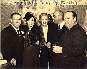 Monty, Maxine Cleugh, GF, Eric C, Hitchcock
