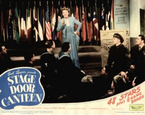 'Stage Door Canteen' lobby card