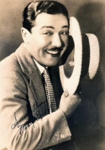 Monty in the silent film era