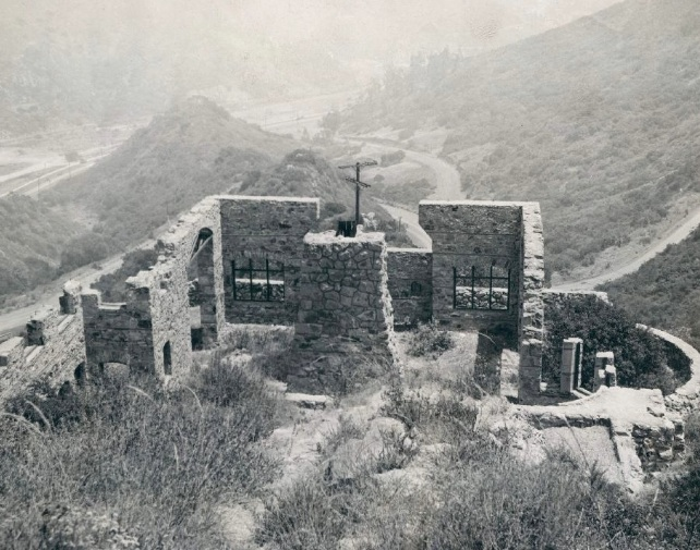 'Castle-in-the-Air' Hollywood, California