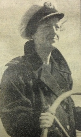 Gracie at the wheel of the S.S. Gracie Fields on a charity day in 1936