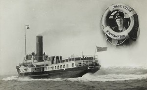 Red Funnel steamer Gracie Fields copy
