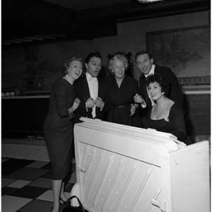 Vera Lynn, Dickie Valentine, Teddy Johnson & Alma Cogan