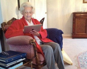 Marjorie Gorton, a true 'Silver'Surfer' at 92.