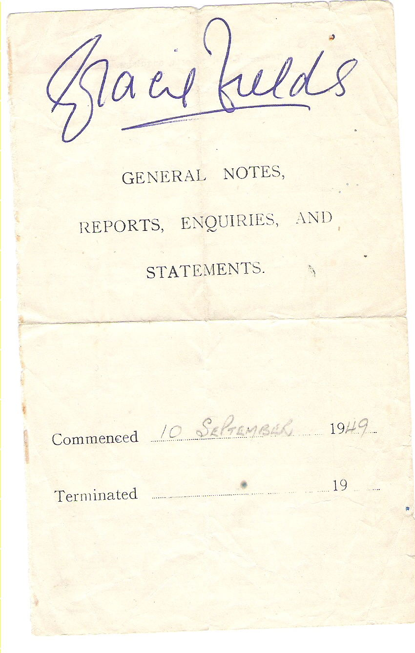 Unknown copy