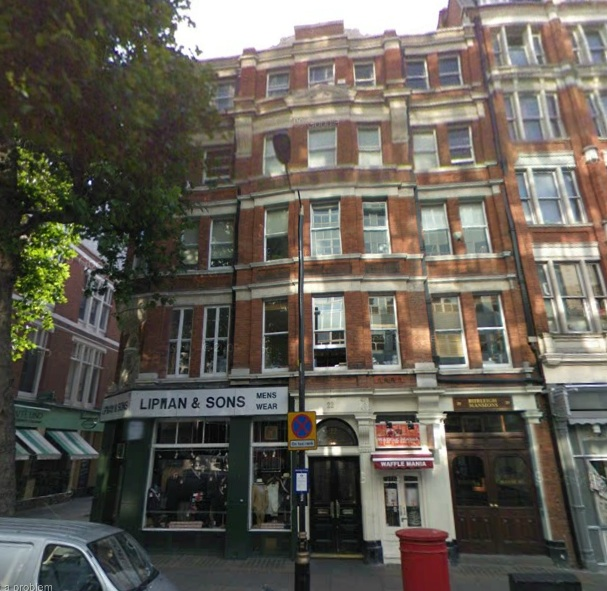 22 Charring Cross Road, London, Aza Agency's Head Office copy