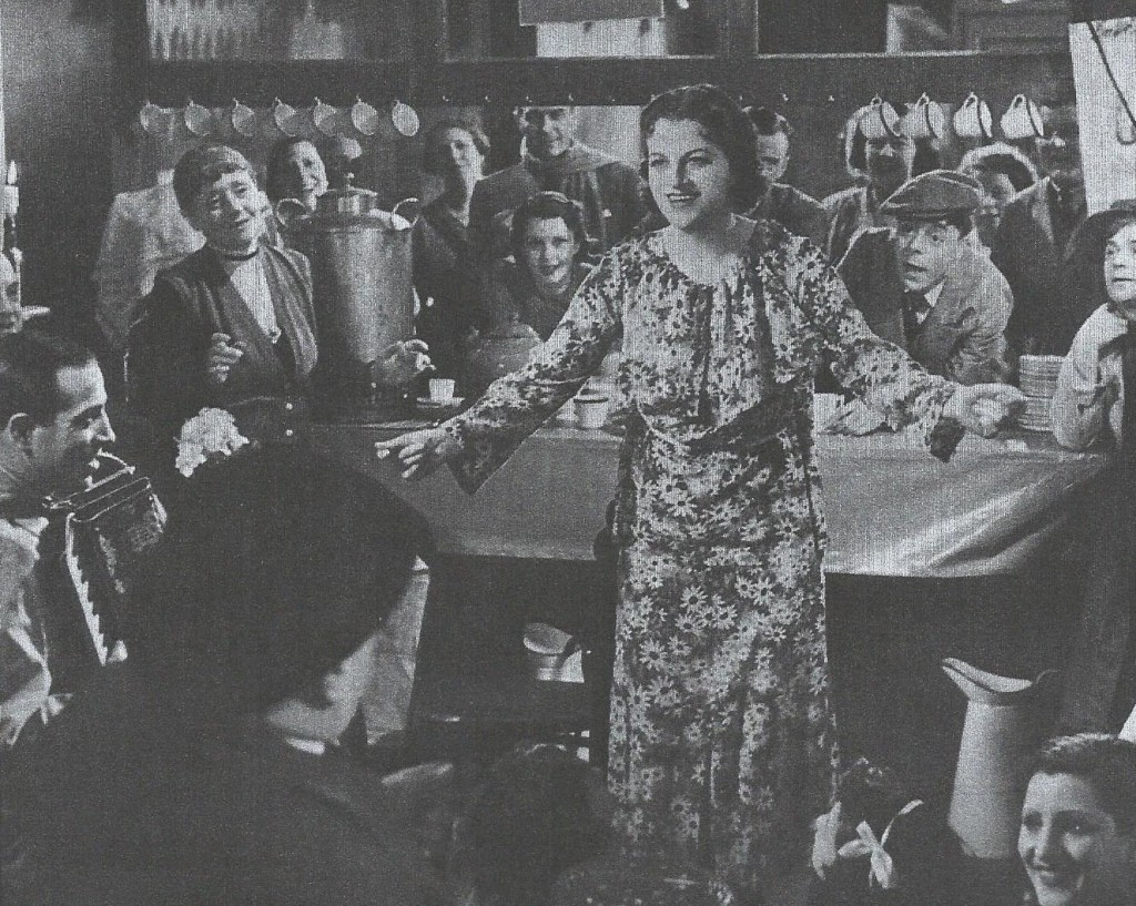 'Look Up and Laugh' Cameo roll by Nino Rossini (far left) Tommy Fields (behind Gracie's shoulder), and Duggie Wakefield (behind Gracie's left arm)