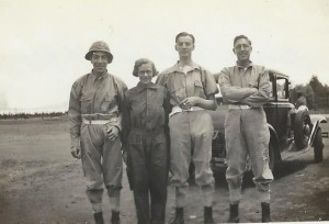 South Africa 1935, Nino, Mau (Gracie's companion, Tommy, Harry Parr Davies With thanks to Mervyn Rossinid
