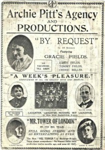 'A Weeks Pleasure' flier