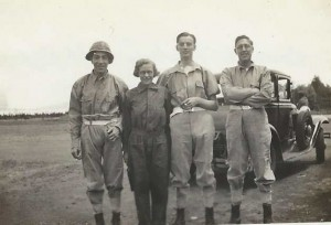 South Africa 1935, Nino, Maud, Tommy, HPD
