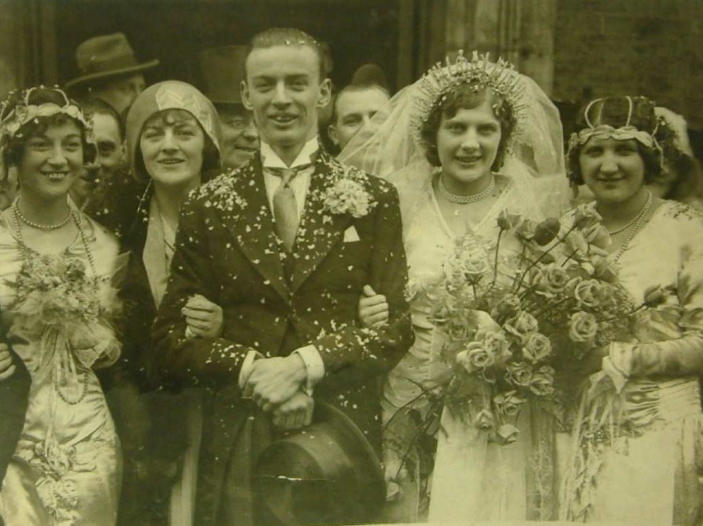 Tommy and Dorothy's wedding