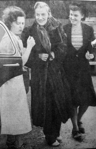 Arriving home at the Haven with Sister Southgate and Dorothy Whiteside (Tommy's wife).