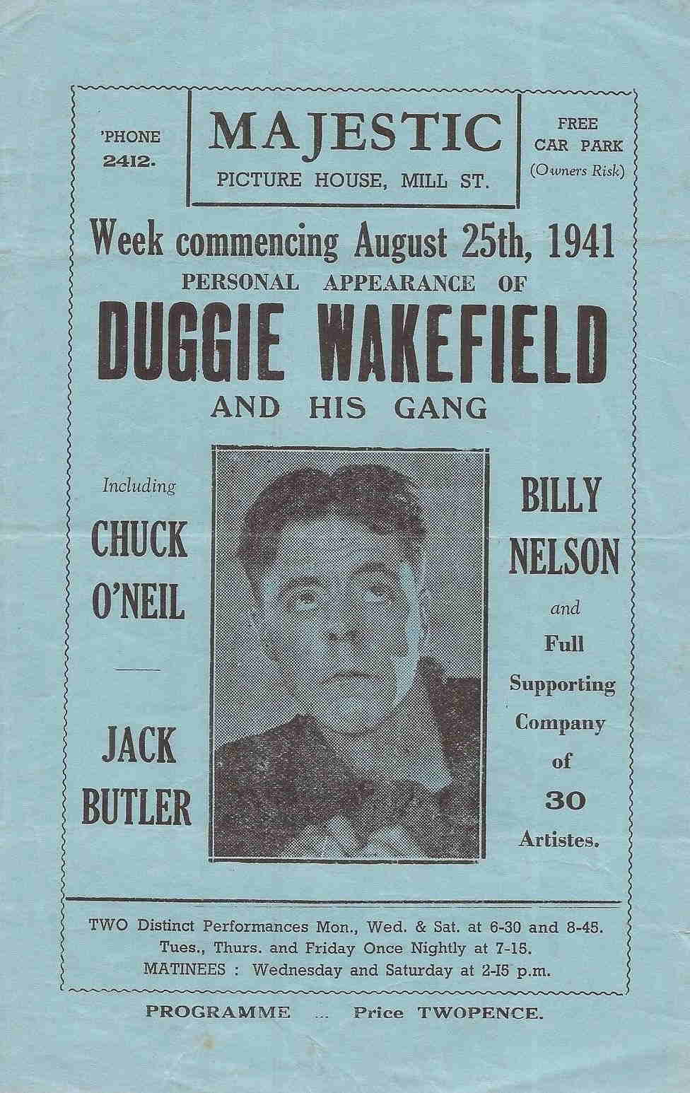 Duggie Wakefireld and His Gang 1941
