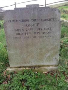 Grace - Duggie & Edith daughter
